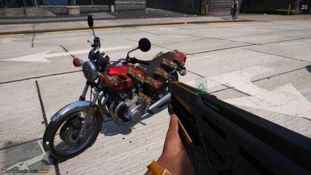 GTA5: 实在惹不起, 老崔送来的摩托车有多强你知道吗?