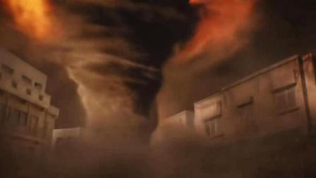恐怖分子挟持并强迫他启动炸弹引爆程序, 炸弹爆炸一发地下亿股火焰龙卷风