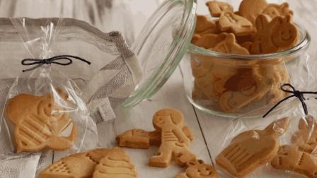可爱有趣的DIY卡通饼干, 酥脆美味的模具饼干