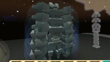 迷你世界新玩法制召唤三头六臂的远古石像并秒杀 笑笑小悠
