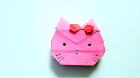 折纸王子折纸hellokitty凯蒂猫, 儿童手工, 动手动脑简单易学