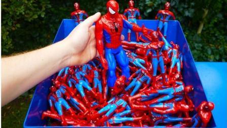 """在国外实验界堪称""""毁灭者""""的粉碎机, 遇到100个蜘蛛侠会怎样? 服了"""