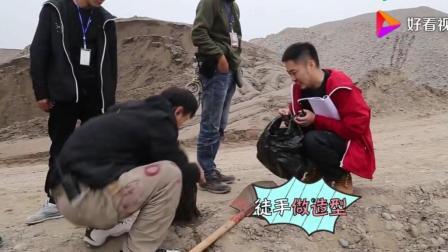 《法医秦明之幸存者》花絮: 原来江边发现的女尸头是这样拍摄的!