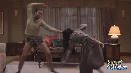 搞笑四川话配音: 非洲黑娃暴打女鬼贞子, 贞子被打到没尊严了