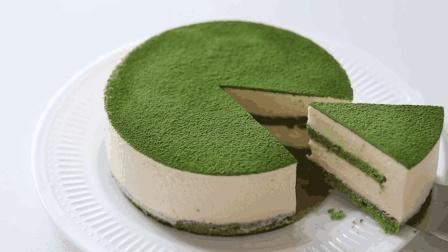 香浓抹茶提拉米苏蛋糕, 绵软美味的下午茶甜点