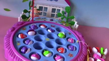 猪猪侠波比做培乐多彩泥制作菠萝味蛋糕