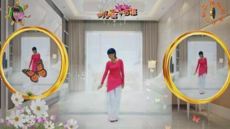 2018最新阳光美梅原创广场舞《思美人兮》
