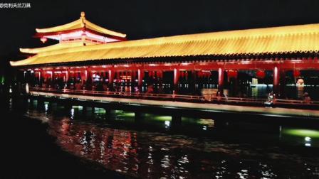 西安大唐芙蓉园夜景5A级景区
