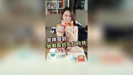 自制酸奶五仁月饼