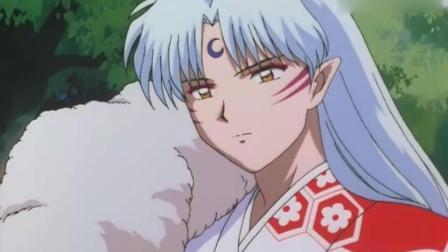 犬夜叉: 小玲正在给阿吽喂草, 杀生丸出现对玲说了这句好暖心!