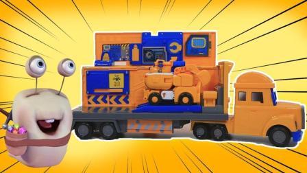 超级飞侠的好伙伴 卡尔叔叔的救援车