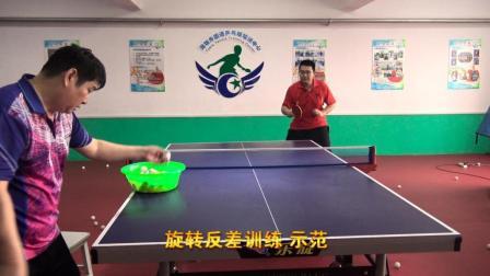 在打乒乓球时总是控制不了旋转? 如何提高这种能力? 来看训练方法