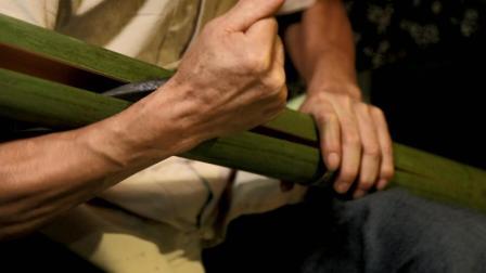 农村绝技老人广发英雄贴招徒, 学会这本领, 一根竹子闯天下