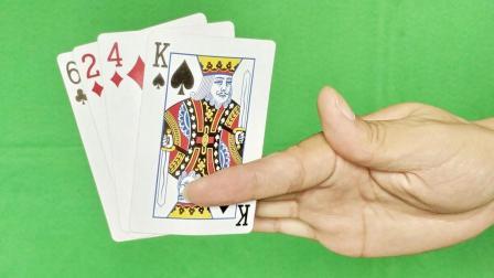 完全不挡住! 为什么空手可以变出扑克牌? 教学后这么简单