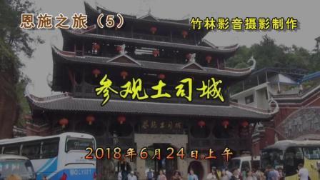 恩施之旅(5)—参观土司城(竹林影音)