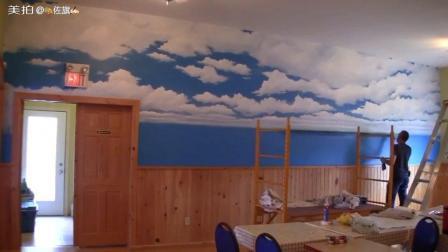 看看云彩是怎么样画出来的……