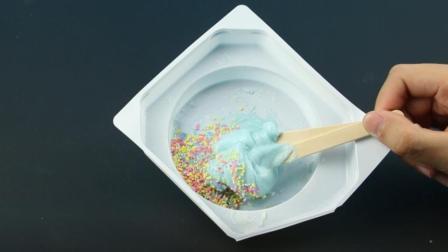 萌芽玩具屋 日本食玩DIY史莱姆迷你厨房 棉花糖真好吃!