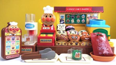 面包超人的超级豪华面包店过家家玩具