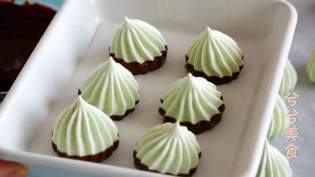 在家即可学会制作巧克力蛋白小曲奇, 精致可爱美味爽口, 下午茶必备
