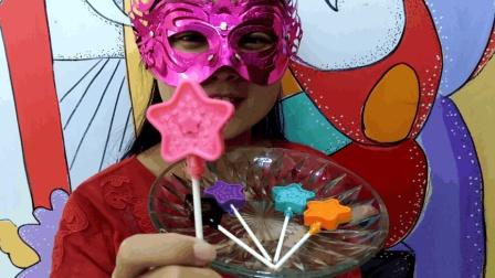 """妹子试吃""""魔法棒巧克力"""", 巴拉巴拉小魔仙, 可以吃的魔法棒哦"""
