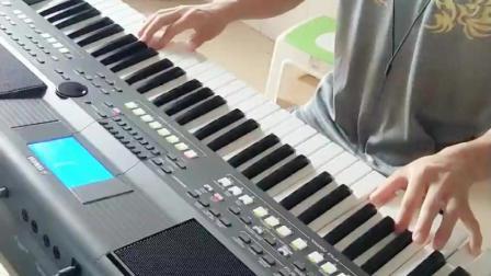 电子琴演奏《学生作业真的好想你》