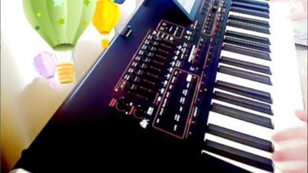 电子琴演奏《学生作业南泥湾》