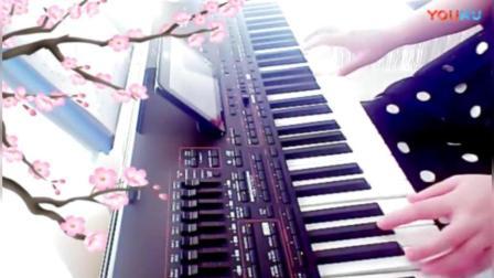 电子琴演奏《学生作业人在旅途》