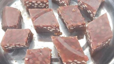 """红枣马蹄糕真不愧是""""三红""""美食、这样做出来香甜可口不粘牙"""