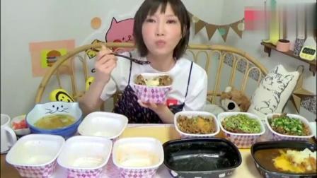 大胃王木下, 吃大碗牛肉+奶酪+泡菜咖喱拌饭