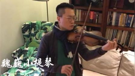 魏巍小提琴 深情演绎《月半小夜曲》    苏州发布