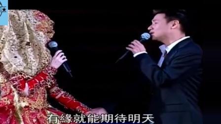 梅艳芳的最后一场演唱会, 张学友牵手含着泪唱完, 梅艳芳几度哽咽