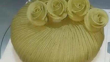 你的黑暗蛋糕玫瑰蛋糕, 喜欢吗? #创意蛋糕##花卉蛋糕##我要