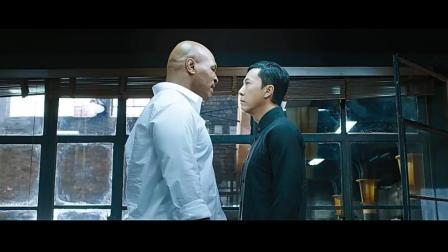 甄子丹大战泰森, 3分钟决胜负看谁能赢!