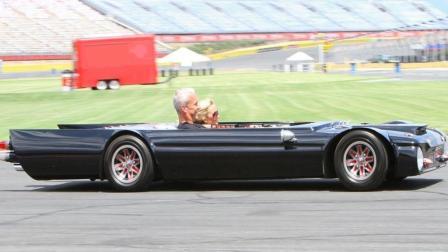 世界上最薄的跑车, 只有48厘米, 网友: 过高速不给钱?