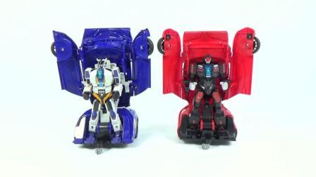 60变形战士BoxingBattle警察超级跑车变形机器人玩具改造(082716)
