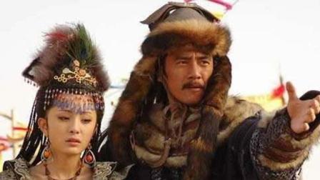 成吉思汗将敌人之女也速干掳回来, 说: 你若要活命, 往后当我妾婢