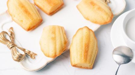 教你做一款法国经典小甜点, 玛德琳蛋糕!