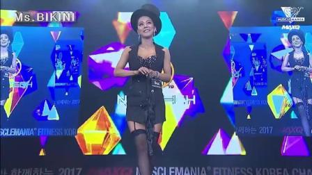 韩国美妞的魔术表演