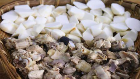 学会火爆川渝的芋儿鸡了吗? 川菜大厨教你制作方法, 全程毫无保留