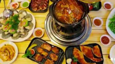 越南美食街上的烤肉店, 进去之后就不想出来了
