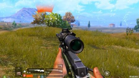 狙击手麦克: 扮猪吃老虎! 8倍AWM带野队零杀躺鸡, 队友哭笑不得
