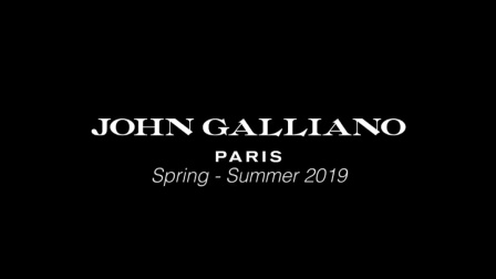 John Galliano S/S 2019 Fashion Show