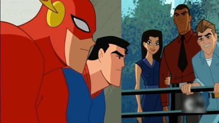 闪电侠与超人正式比赛, 比拼速度, 结果卢瑟跑得最快!