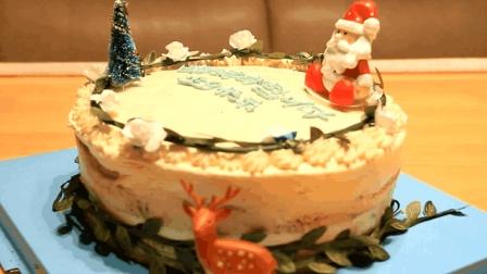 """一步一步教你做生日蛋糕, 适合""""0基础""""的新手, 不用抹面做法简单! 附详细教程(文章目录里)"""