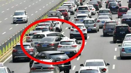高速上的开车行为, 这4种令人讨厌, 第4个我们经常会遇到