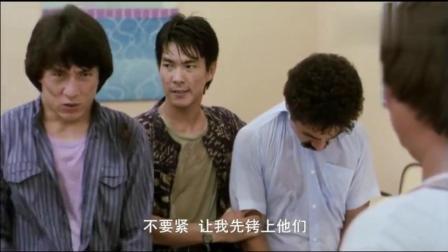 洪金宝成龙经典电影, 谁算得出这一部电梯走出来多少位香港明星