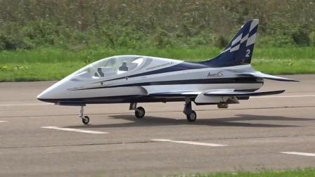 [JetPower2018]Avanti S涡喷模型飞机飞行表演