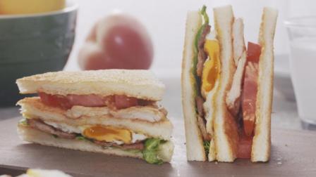 美食台 | 两颗鸡蛋做个能量餐, 漂亮!