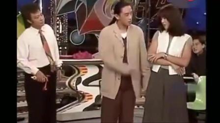 20多年前的周海媚, 被张菲和费玉清逗的笑趴下了