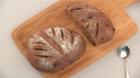 超人气巧克力面包, 黑眼豆豆面包详细教程在这里!